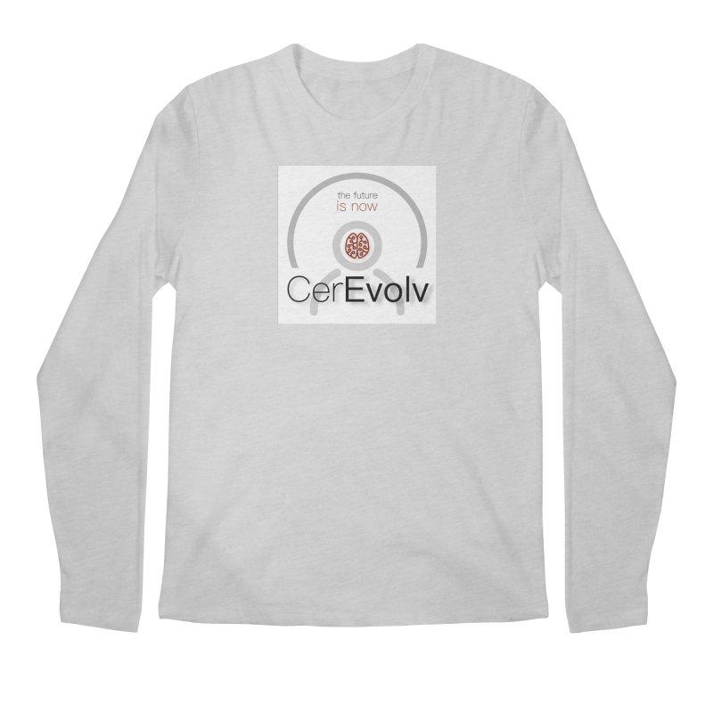 CerEvolv Logo (We Lost the Sky) Men's Regular Longsleeve T-Shirt by Spaceboy Books LLC's Artist Shop