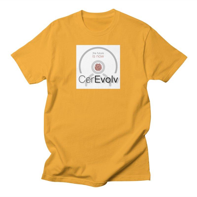 CerEvolv Logo (We Lost the Sky) Men's T-Shirt by Spaceboy Books LLC's Artist Shop