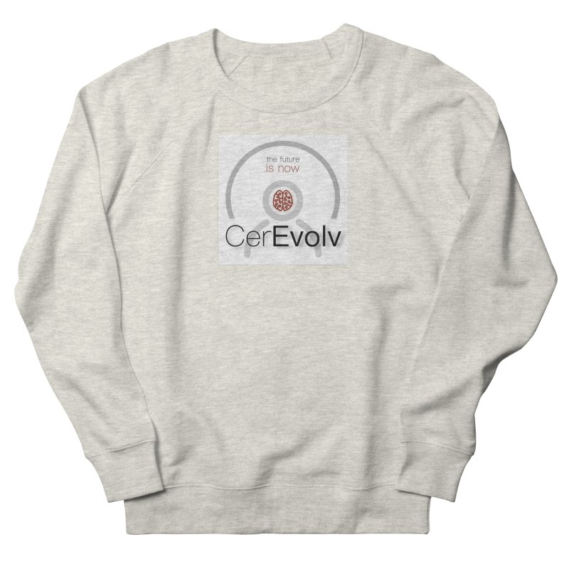 CerEvolv Logo (We Lost the Sky) Women's French Terry Sweatshirt by Spaceboy Books LLC's Artist Shop