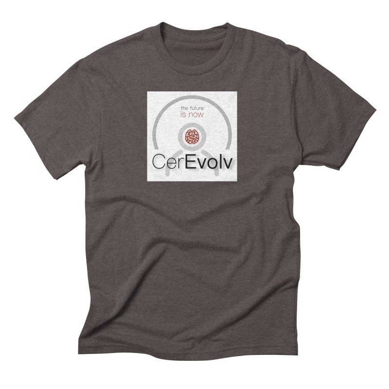 CerEvolv Logo (We Lost the Sky) Men's Triblend T-Shirt by Spaceboy Books LLC's Artist Shop
