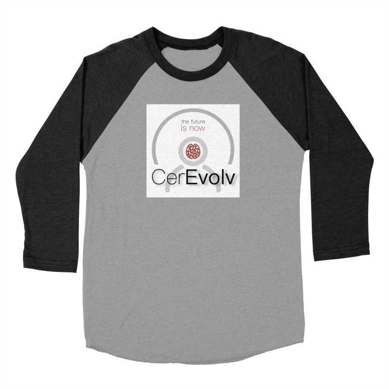 CerEvolv Logo (We Lost the Sky) Women's Baseball Triblend Longsleeve T-Shirt by Spaceboy Books LLC's Artist Shop
