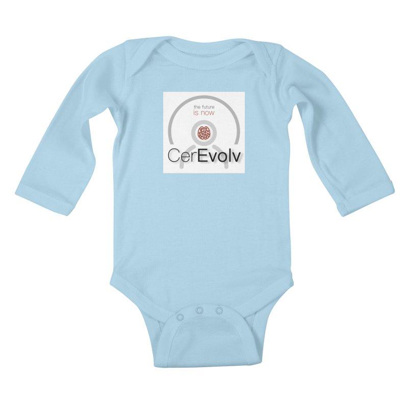 CerEvolv Logo (We Lost the Sky) Kids Baby Longsleeve Bodysuit by Spaceboy Books LLC's Artist Shop