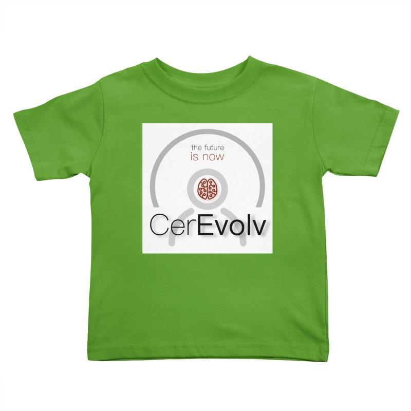 CerEvolv Logo (We Lost the Sky) Kids Toddler T-Shirt by Spaceboy Books LLC's Artist Shop