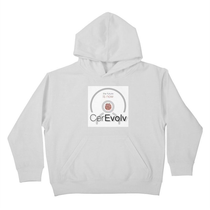 CerEvolv Logo (We Lost the Sky) Kids Pullover Hoody by Spaceboy Books LLC's Artist Shop