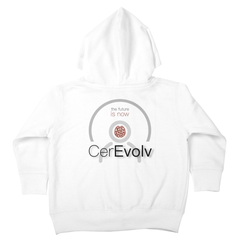 CerEvolv Logo (We Lost the Sky) Kids Toddler Zip-Up Hoody by Spaceboy Books LLC's Artist Shop