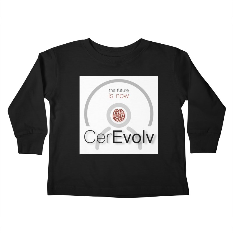 CerEvolv Logo (We Lost the Sky) Kids Toddler Longsleeve T-Shirt by Spaceboy Books LLC's Artist Shop