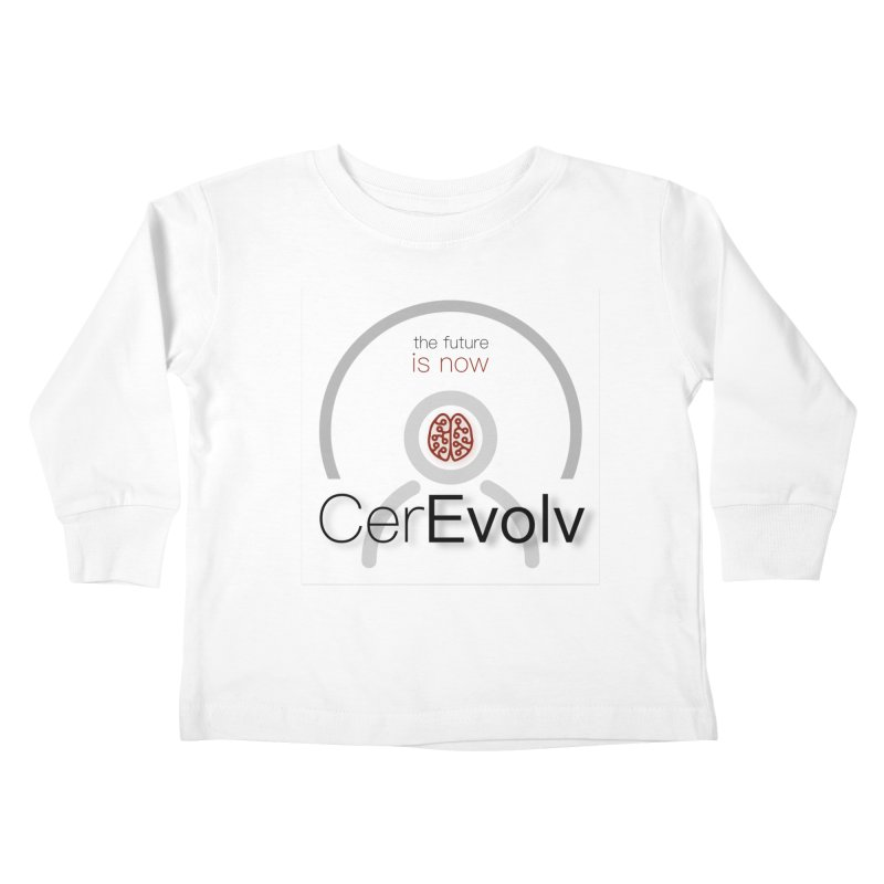 CerEvolv Logo (We Lost the Sky) Kids Toddler Longsleeve T-Shirt by Spaceboy Books LLC's Artist Shop
