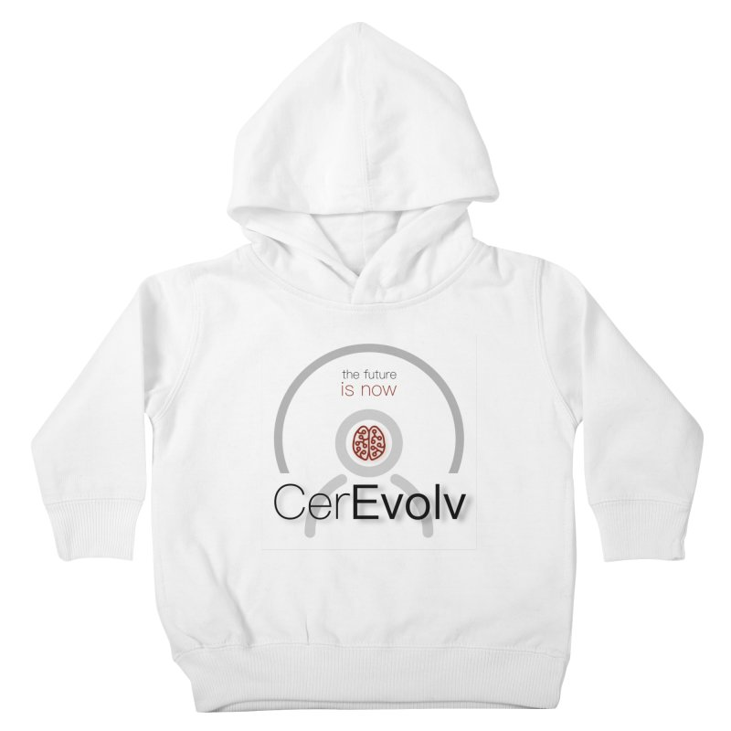 CerEvolv Logo (We Lost the Sky) Kids Toddler Pullover Hoody by Spaceboy Books LLC's Artist Shop