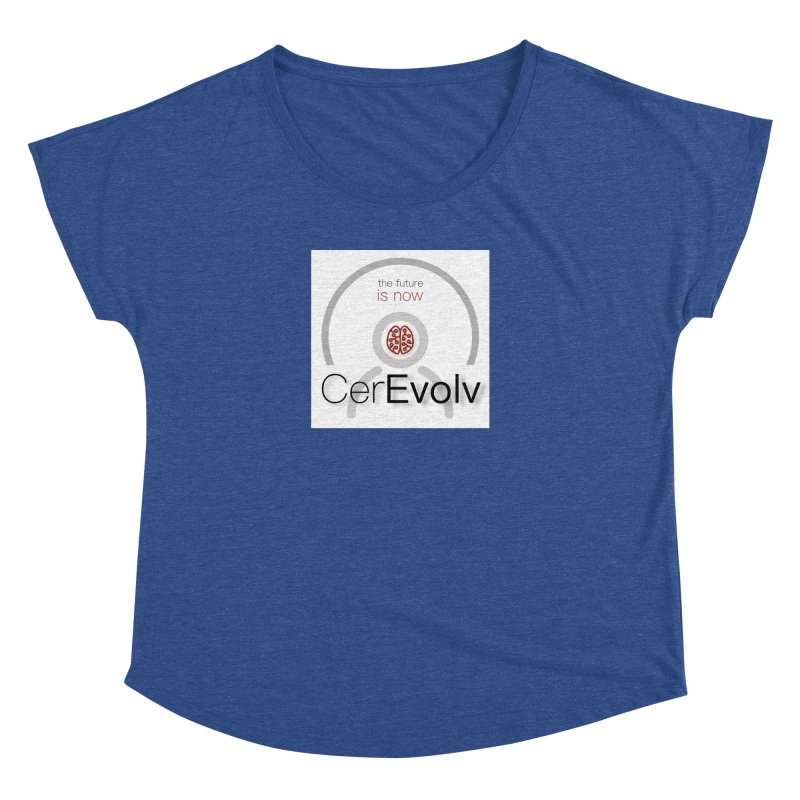 CerEvolv Logo (We Lost the Sky) Women's Dolman Scoop Neck by Spaceboy Books LLC's Artist Shop