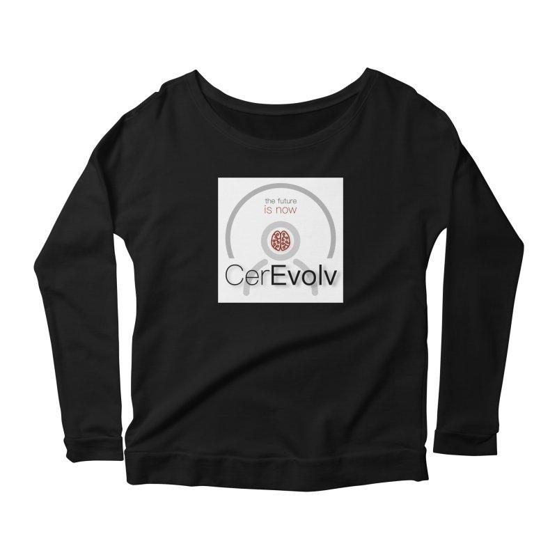 CerEvolv Logo (We Lost the Sky) Women's Scoop Neck Longsleeve T-Shirt by Spaceboy Books LLC's Artist Shop