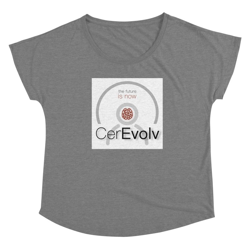CerEvolv Logo (We Lost the Sky) Women's Scoop Neck by Spaceboy Books LLC's Artist Shop