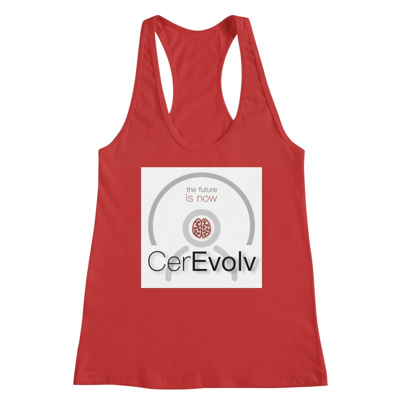 CerEvolv Logo (We Lost the Sky) Women's Racerback Tank by Spaceboy Books LLC's Artist Shop