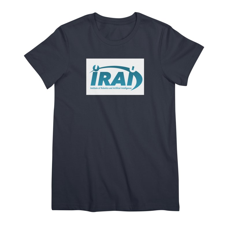 IRAI - Institute of Robotics and Artificial Intelligence Logo (We Lost the Sky) Women's Premium T-Shirt by Spaceboy Books LLC's Artist Shop