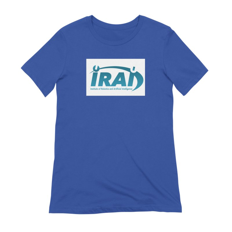 IRAI - Institute of Robotics and Artificial Intelligence Logo (We Lost the Sky) Women's Extra Soft T-Shirt by Spaceboy Books LLC's Artist Shop