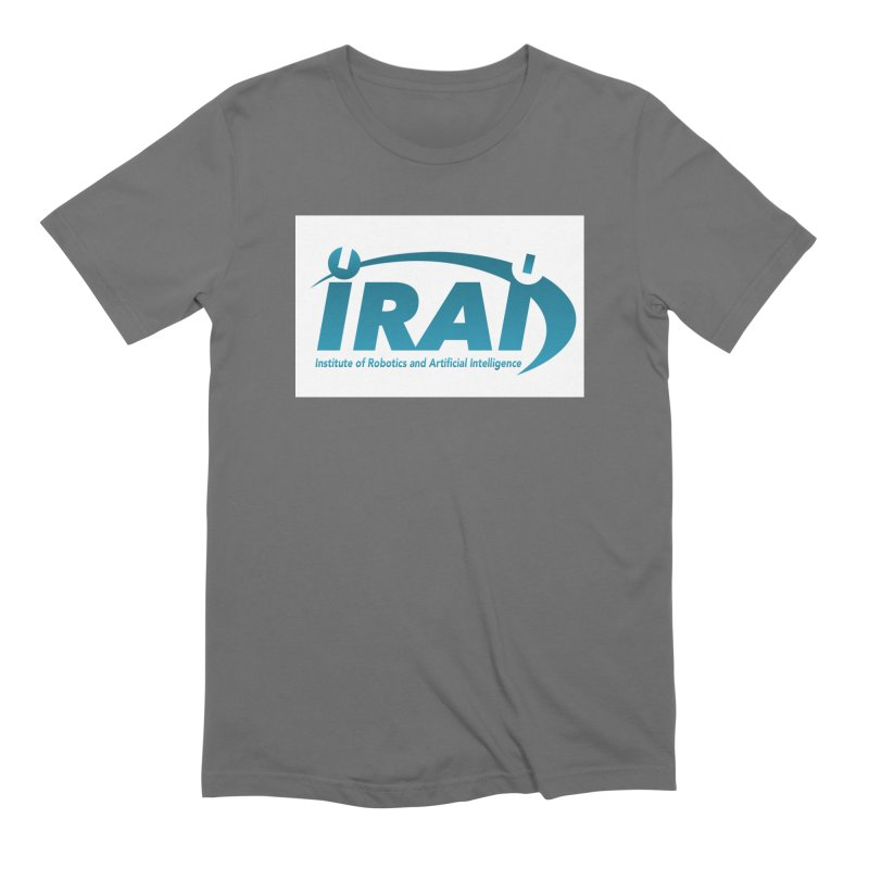 IRAI - Institute of Robotics and Artificial Intelligence Logo (We Lost the Sky) Men's Extra Soft T-Shirt by Spaceboy Books LLC's Artist Shop