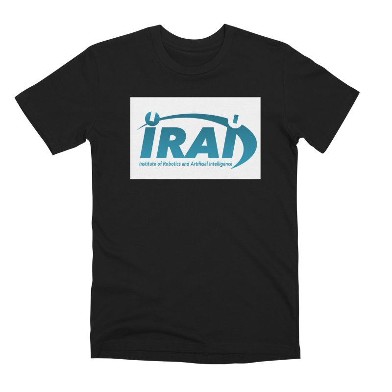 IRAI - Institute of Robotics and Artificial Intelligence Logo (We Lost the Sky) Men's Premium T-Shirt by Spaceboy Books LLC's Artist Shop