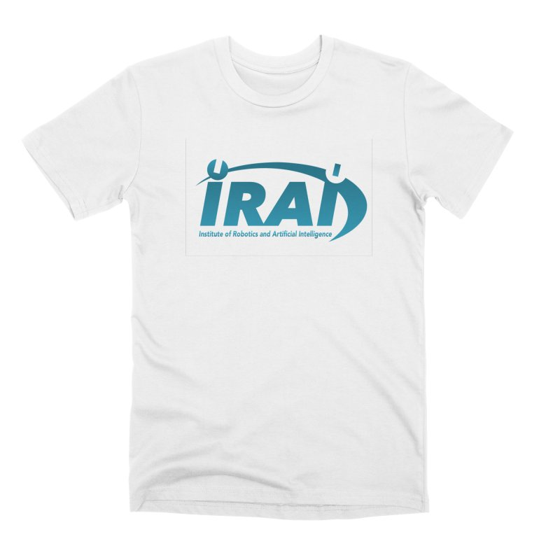 IRAI - Institute of Robotics and Artificial Intelligence Logo (We Lost the Sky) Men's Premium T-Shirt by Spaceboy Books LLC's Artist Shop