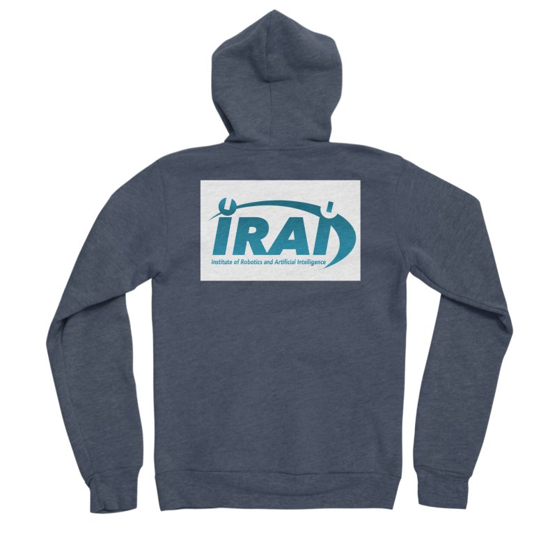 IRAI - Institute of Robotics and Artificial Intelligence Logo (We Lost the Sky) Women's Sponge Fleece Zip-Up Hoody by Spaceboy Books LLC's Artist Shop