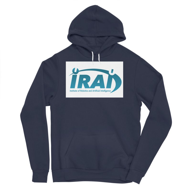 IRAI - Institute of Robotics and Artificial Intelligence Logo (We Lost the Sky) Men's Sponge Fleece Pullover Hoody by Spaceboy Books LLC's Artist Shop