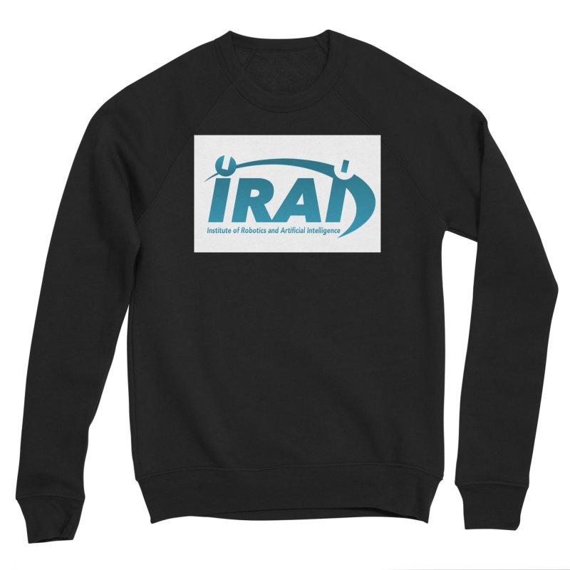 IRAI - Institute of Robotics and Artificial Intelligence Logo (We Lost the Sky) Men's Sponge Fleece Sweatshirt by Spaceboy Books LLC's Artist Shop