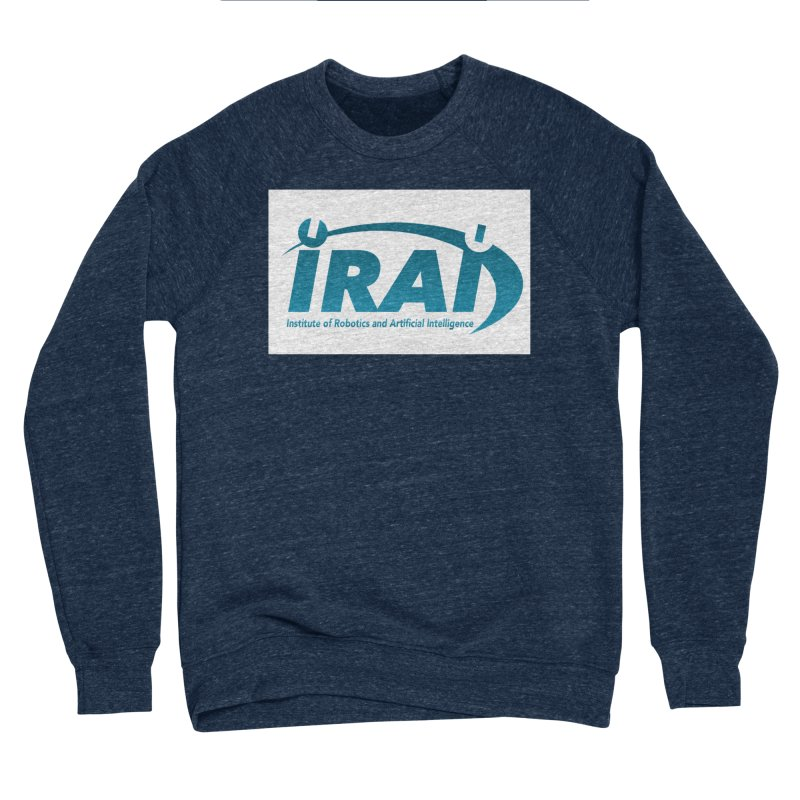 IRAI - Institute of Robotics and Artificial Intelligence Logo (We Lost the Sky) Women's Sponge Fleece Sweatshirt by Spaceboy Books LLC's Artist Shop