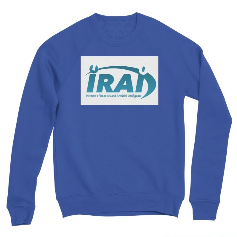 IRAI - Institute of Robotics and Artificial Intelligence Logo (We Lost the Sky) Men's Sponge Fleece Sweatshirt by Spaceboy Books LLC's Artist Shop
