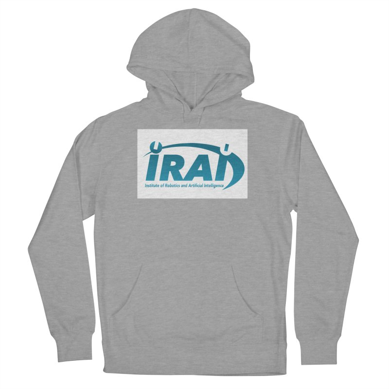 IRAI - Institute of Robotics and Artificial Intelligence Logo (We Lost the Sky) Women's French Terry Pullover Hoody by Spaceboy Books LLC's Artist Shop