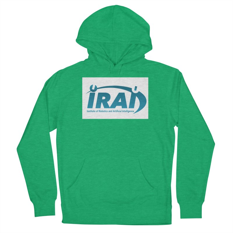 IRAI - Institute of Robotics and Artificial Intelligence Logo (We Lost the Sky) Men's French Terry Pullover Hoody by Spaceboy Books LLC's Artist Shop