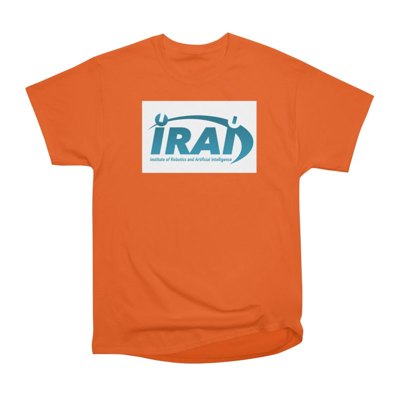 IRAI - Institute of Robotics and Artificial Intelligence Logo (We Lost the Sky) Men's Heavyweight T-Shirt by Spaceboy Books LLC's Artist Shop