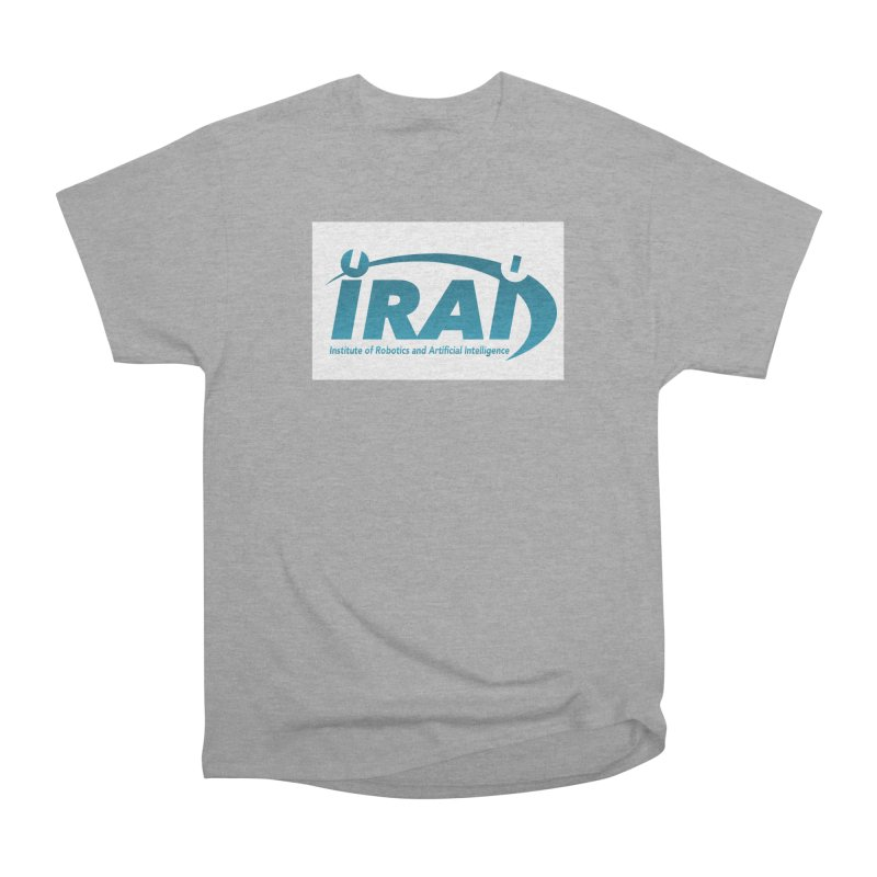 IRAI - Institute of Robotics and Artificial Intelligence Logo (We Lost the Sky) Women's Heavyweight Unisex T-Shirt by Spaceboy Books LLC's Artist Shop