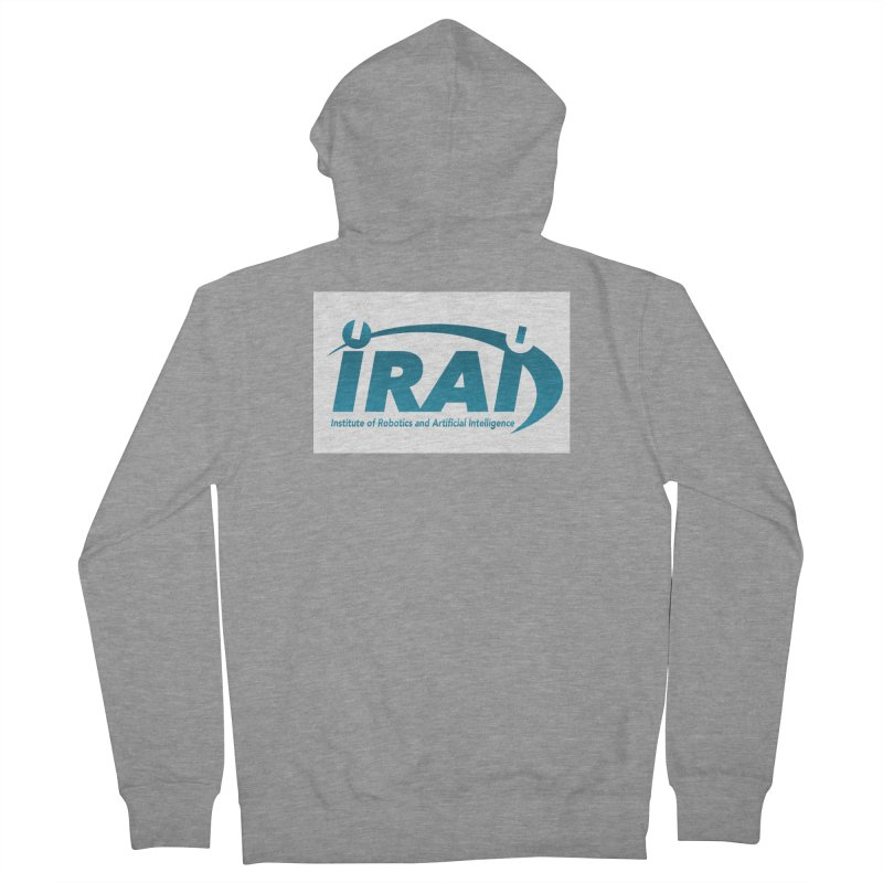 IRAI - Institute of Robotics and Artificial Intelligence Logo (We Lost the Sky) Women's French Terry Zip-Up Hoody by Spaceboy Books LLC's Artist Shop