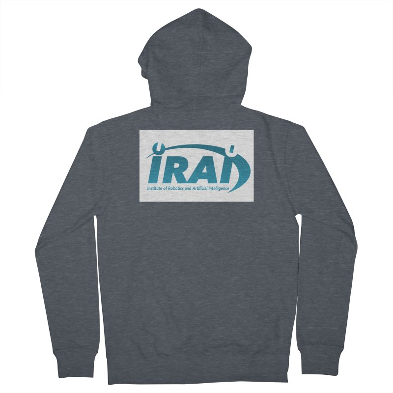 IRAI - Institute of Robotics and Artificial Intelligence Logo (We Lost the Sky) Men's Zip-Up Hoody by Spaceboy Books LLC's Artist Shop