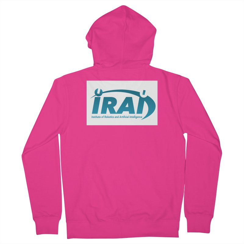 IRAI - Institute of Robotics and Artificial Intelligence Logo (We Lost the Sky) Men's French Terry Zip-Up Hoody by Spaceboy Books LLC's Artist Shop
