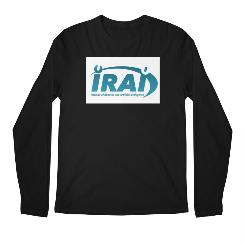 IRAI - Institute of Robotics and Artificial Intelligence Logo (We Lost the Sky) Men's Regular Longsleeve T-Shirt by Spaceboy Books LLC's Artist Shop