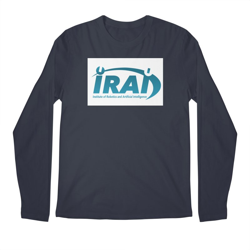 IRAI - Institute of Robotics and Artificial Intelligence Logo (We Lost the Sky) Men's Longsleeve T-Shirt by Spaceboy Books LLC's Artist Shop