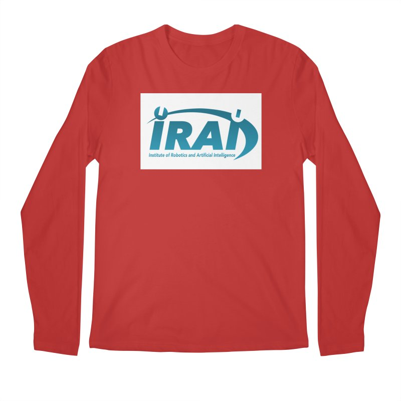 IRAI - Institute of Robotics and Artificial Intelligence Logo (We Lost the Sky) Men's Regular Longsleeve T-Shirt by Spaceboy Books LLC's Artist Shop