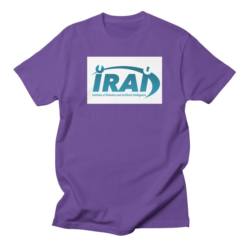 IRAI - Institute of Robotics and Artificial Intelligence Logo (We Lost the Sky) Men's T-Shirt by Spaceboy Books LLC's Artist Shop