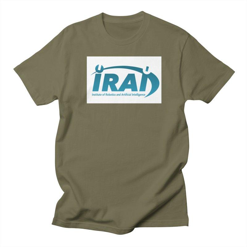 IRAI - Institute of Robotics and Artificial Intelligence Logo (We Lost the Sky) Men's Regular T-Shirt by Spaceboy Books LLC's Artist Shop