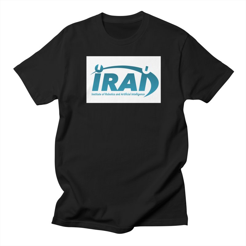 IRAI - Institute of Robotics and Artificial Intelligence Logo (We Lost the Sky) Women's Regular Unisex T-Shirt by Spaceboy Books LLC's Artist Shop