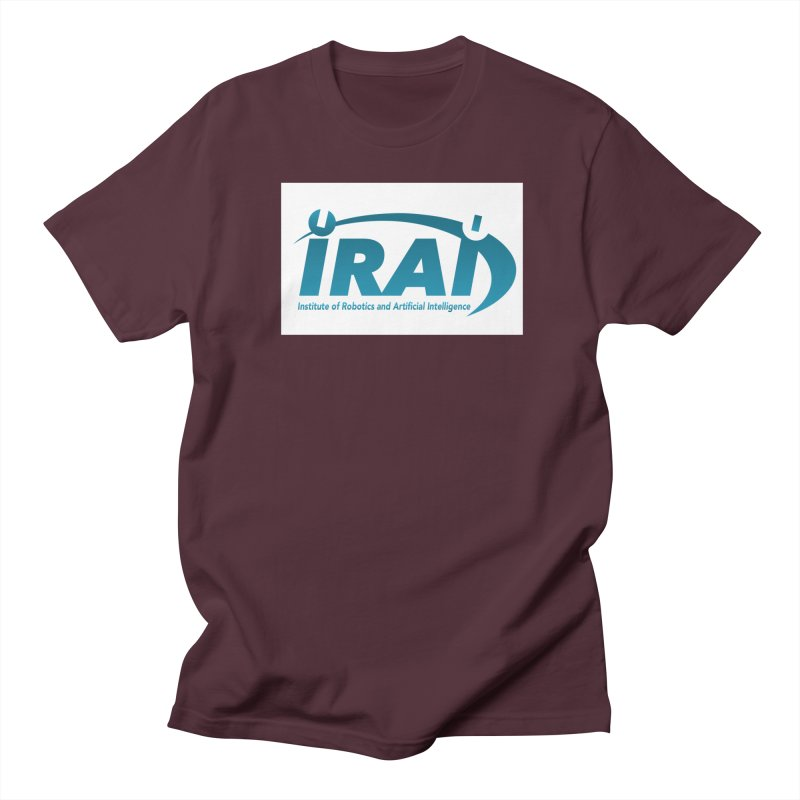 IRAI - Institute of Robotics and Artificial Intelligence Logo (We Lost the Sky) Men's Regular T-Shirt by Spaceboy Books LLC's Artist Shop