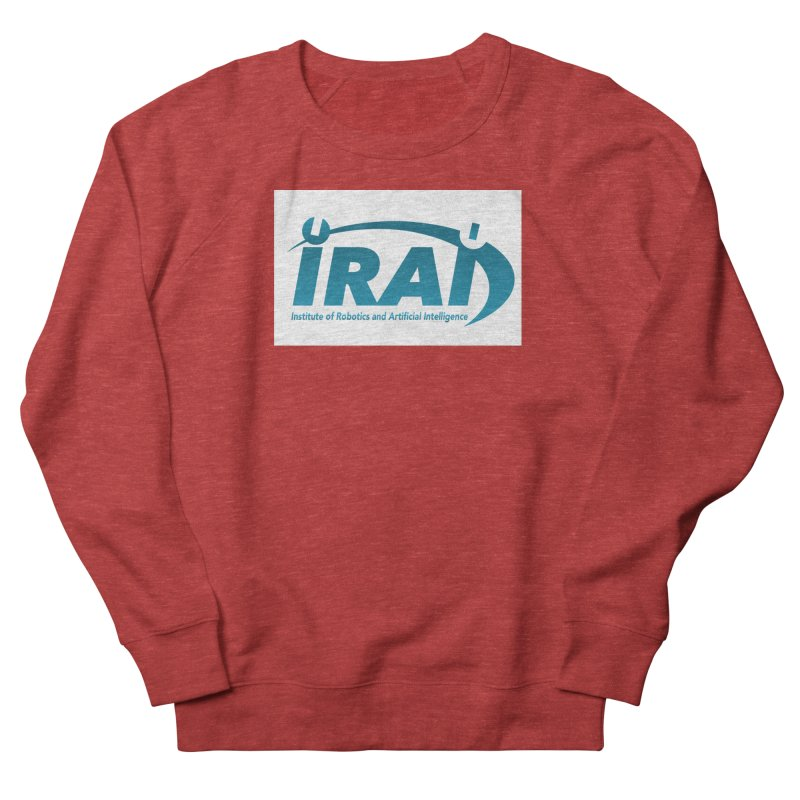 IRAI - Institute of Robotics and Artificial Intelligence Logo (We Lost the Sky) Women's French Terry Sweatshirt by Spaceboy Books LLC's Artist Shop
