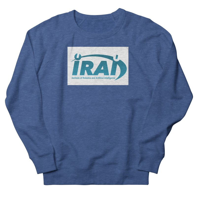 IRAI - Institute of Robotics and Artificial Intelligence Logo (We Lost the Sky) Men's Sweatshirt by Spaceboy Books LLC's Artist Shop