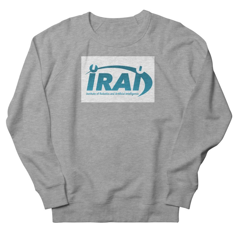 IRAI - Institute of Robotics and Artificial Intelligence Logo (We Lost the Sky) Men's French Terry Sweatshirt by Spaceboy Books LLC's Artist Shop