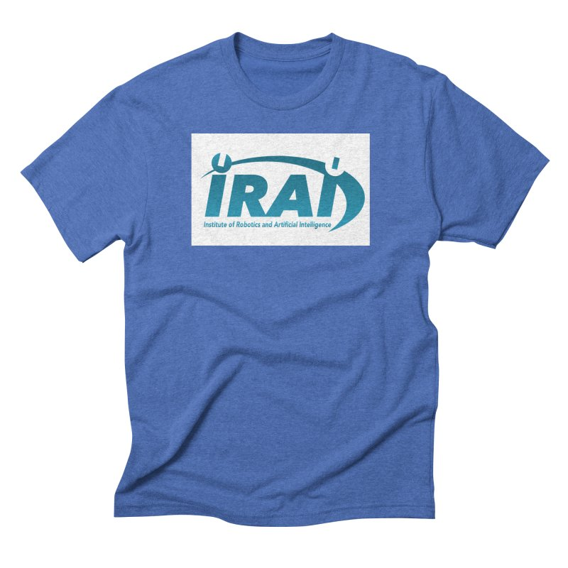IRAI - Institute of Robotics and Artificial Intelligence Logo (We Lost the Sky) Men's Triblend T-Shirt by Spaceboy Books LLC's Artist Shop
