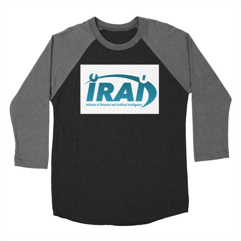 IRAI - Institute of Robotics and Artificial Intelligence Logo (We Lost the Sky) Women's Baseball Triblend Longsleeve T-Shirt by Spaceboy Books LLC's Artist Shop