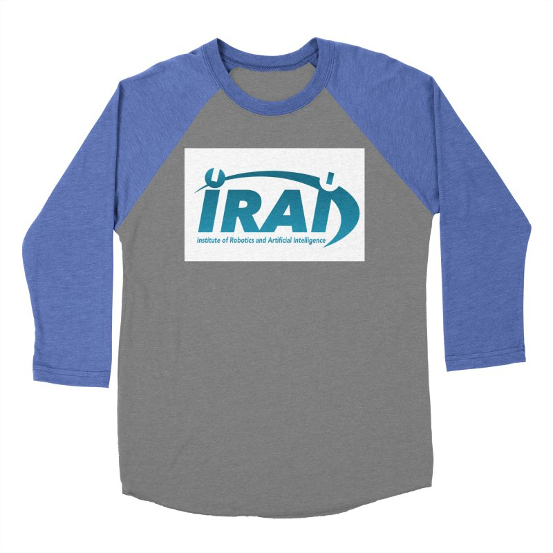 IRAI - Institute of Robotics and Artificial Intelligence Logo (We Lost the Sky) Men's Baseball Triblend Longsleeve T-Shirt by Spaceboy Books LLC's Artist Shop