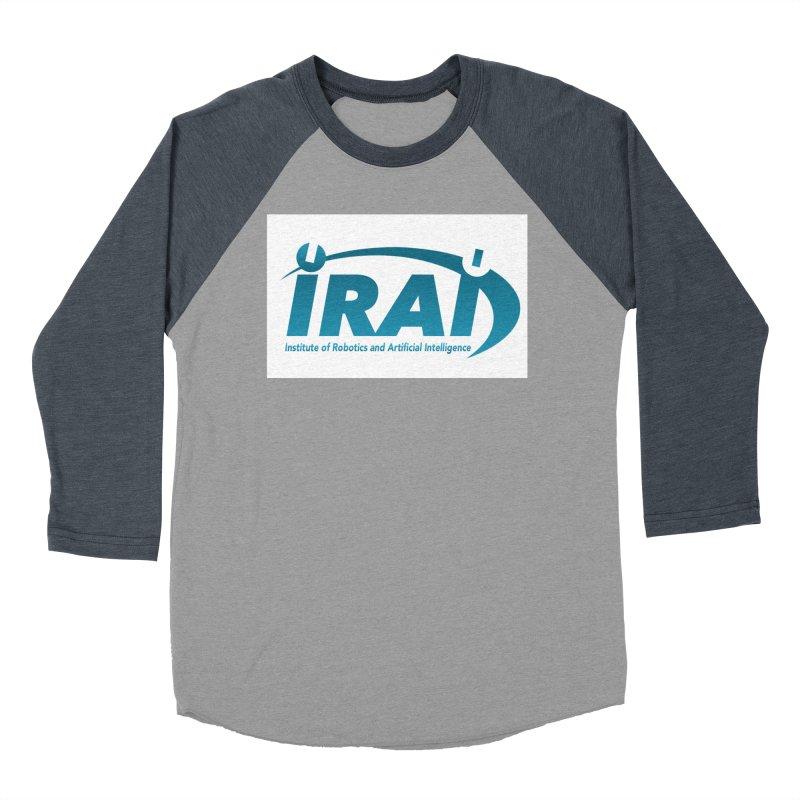 IRAI - Institute of Robotics and Artificial Intelligence Logo (We Lost the Sky) Men's Baseball Triblend Longsleeve T-Shirt by Spaceboy Books LLC's Artist Shop