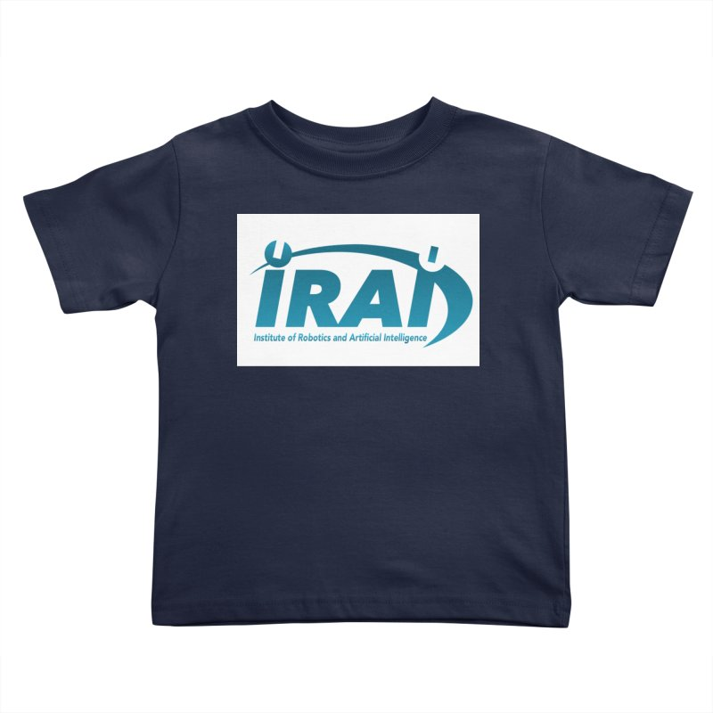 IRAI - Institute of Robotics and Artificial Intelligence Logo (We Lost the Sky) Kids Toddler T-Shirt by Spaceboy Books LLC's Artist Shop