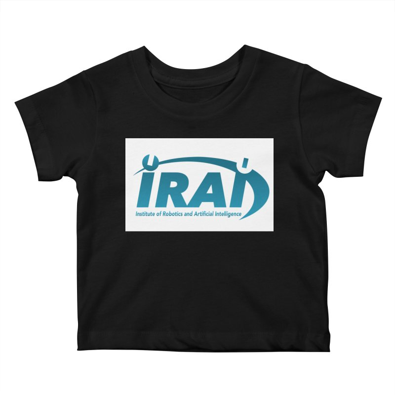 IRAI - Institute of Robotics and Artificial Intelligence Logo (We Lost the Sky) Kids Baby T-Shirt by Spaceboy Books LLC's Artist Shop