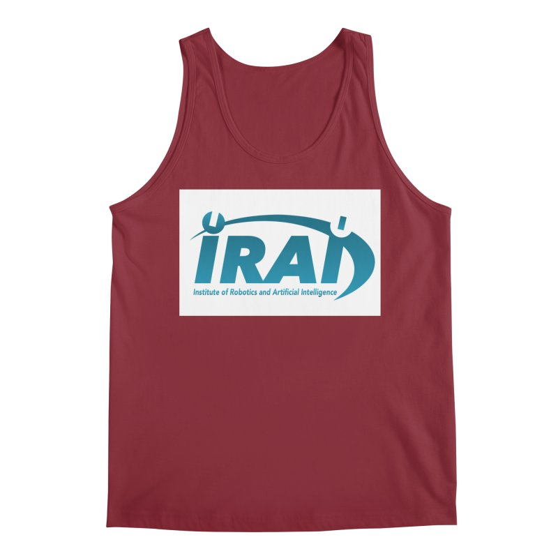 IRAI - Institute of Robotics and Artificial Intelligence Logo (We Lost the Sky) Men's Regular Tank by Spaceboy Books LLC's Artist Shop